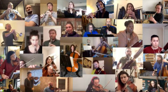 Self-isolating choirs and orchestras are performing powerful at-home concerts…   Classic FM
